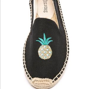 Soludos Smoking Pineapple Slippers Shoes Size 8